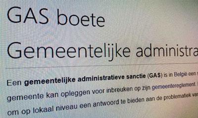 GAS-boete