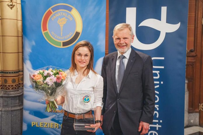 Marion Decrop is sportlaureaat