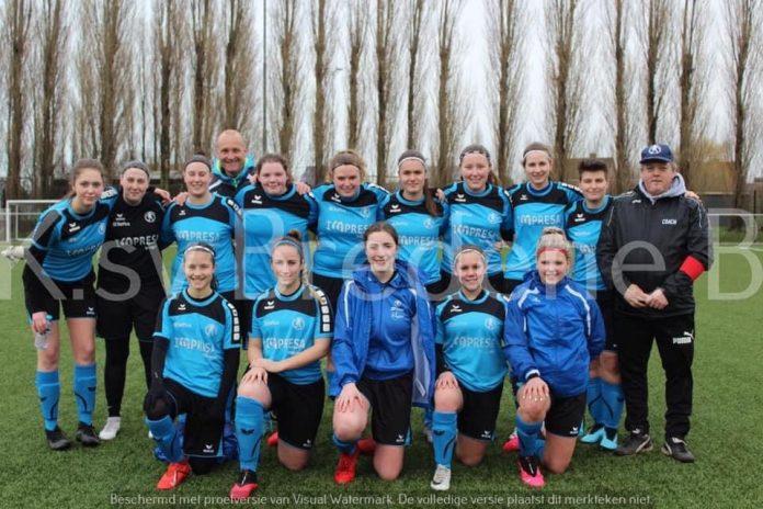Dames voetbal ploeg