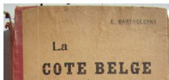 Boek La Côte Belge