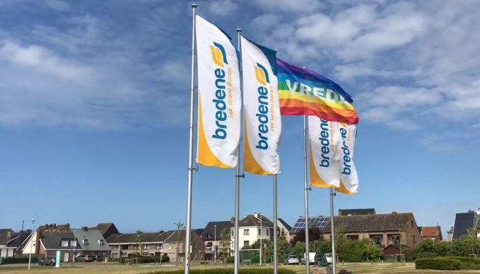 Vlaggen gemeentehuis