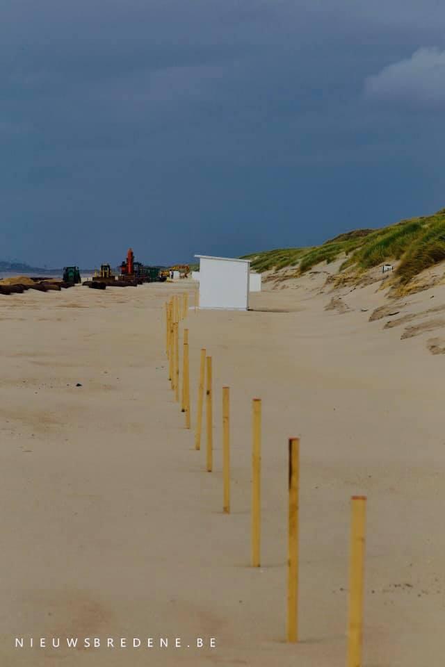 strandcabines in coronatijd