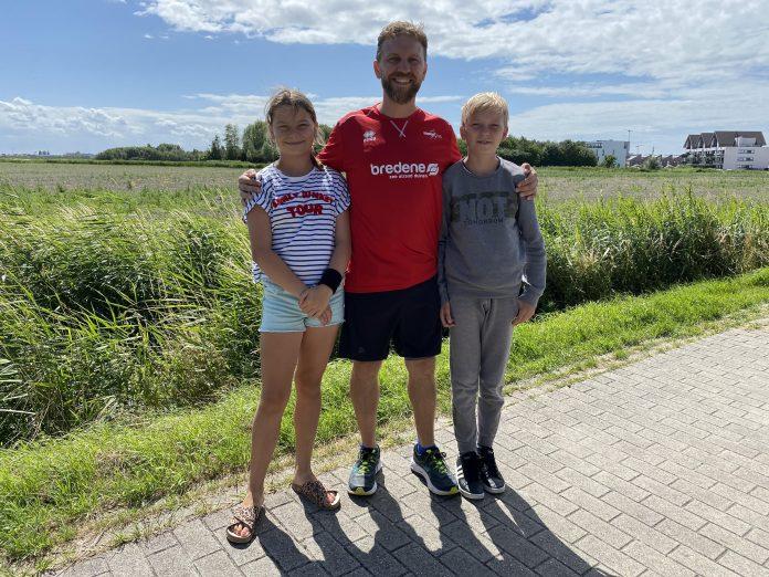 Jens Vanhooren en kinderen