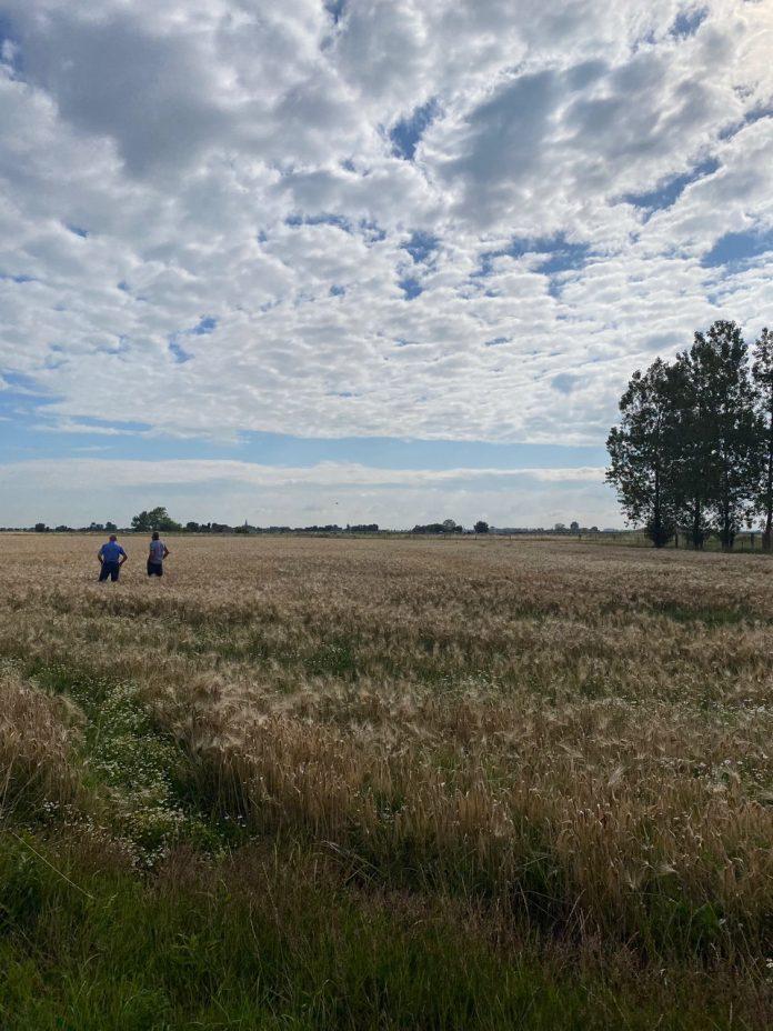 Commissie landbouw op plaatsbezoek