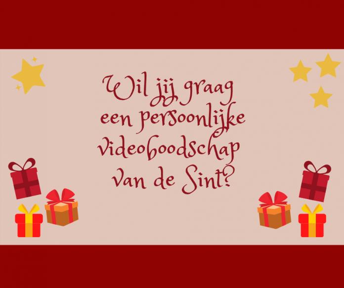 videoboodschap Sint