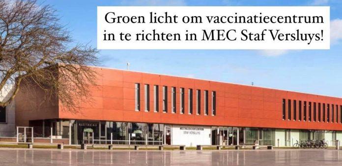 Vaccinatiecentrum MEC Staf Versluys