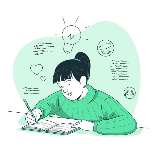 jong schrijftalent