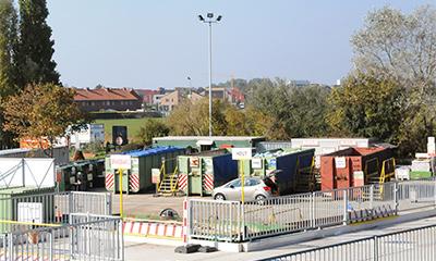 milieu -en recyclagepark