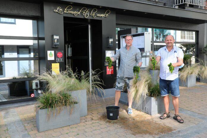 Schepen Alain Lynneel kreeg al een eerste demonstratie van de Seaweedchef.